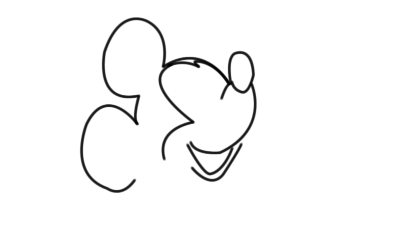Art Of Sketches How To Draw Mickey Mouse In 5 Simple Steps