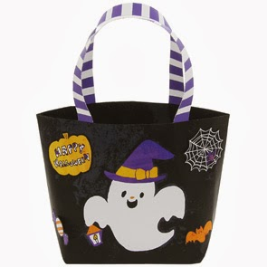 Halloween Bag Papercraft black