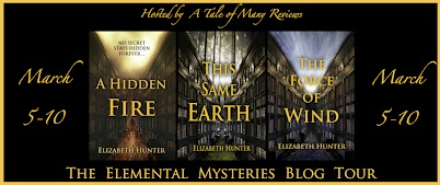 Author Interview & Giveaway: Elizabeth Hunter (The Elemental Mysteries Series)
