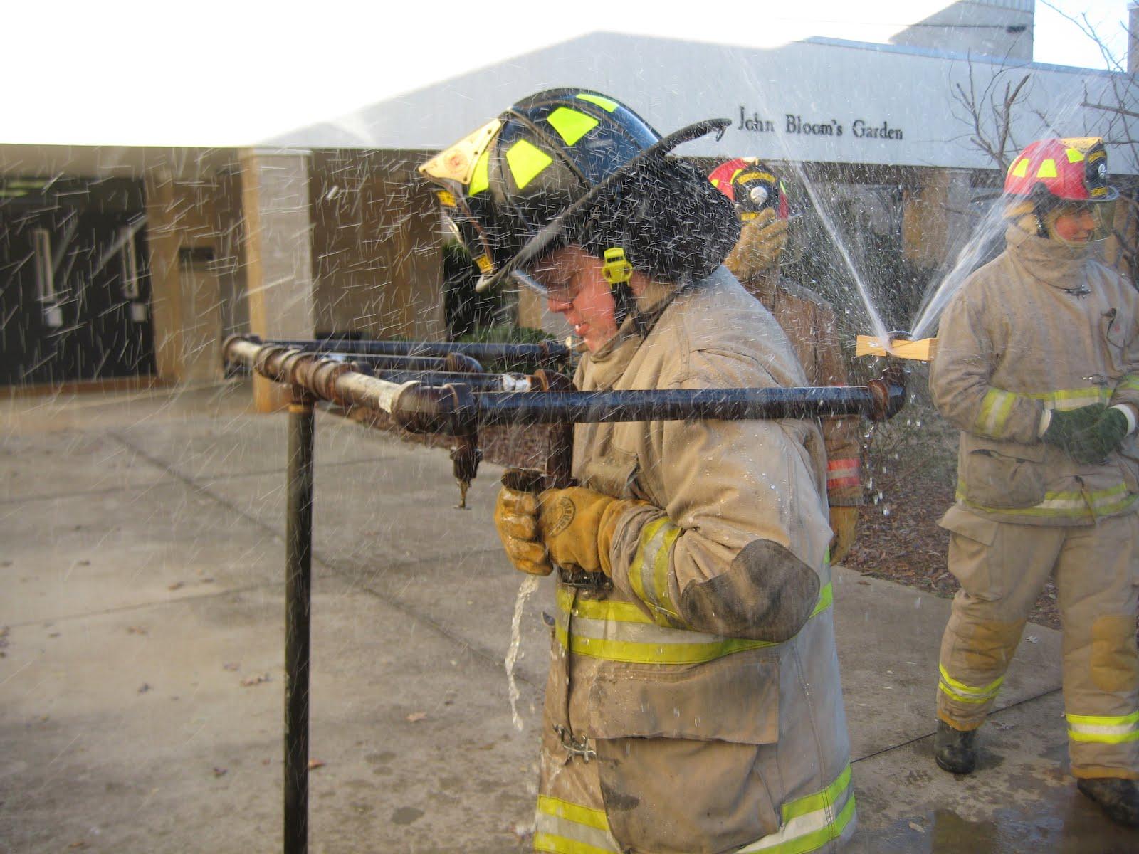Concord High School Fire Academy Sprinkler Fun In 20