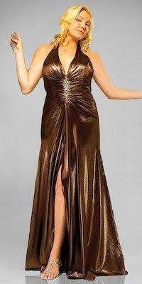 vestido longo com fenda para gordinhas - dicas, fotos e modelos