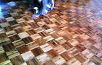 Lantai Kayu, Parket Mozaic