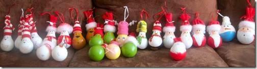 adornos de navidad bombillas