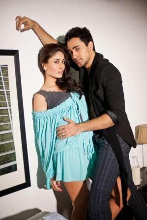 Kareena Kapoor big juicy milky tighs In Blue Mini Skirt for photoshoot