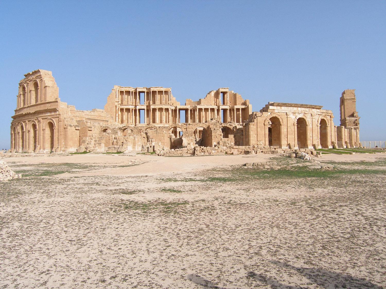 Libya Roman Ruins