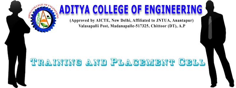 Aditya College of Engineering, Madanapalle  PLACEMENT CELL