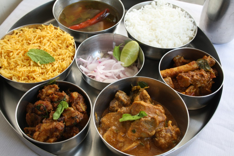 Mutton biryani mutton dum biryani indian non veg thali step by mutton biryani mutton dum biryani indian non veg thali step by step recipe by cooking 4 all seasons foodblogs forumfinder Image collections