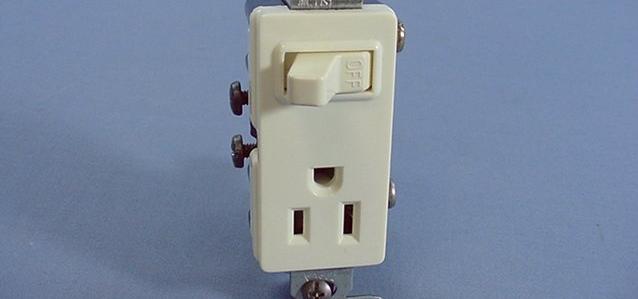 Conexion de interruptor-tomacorriente