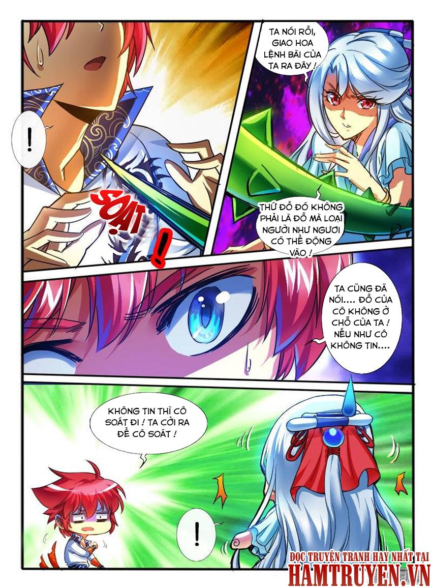 Thông Linh Phi Chap 161 - Trang 8