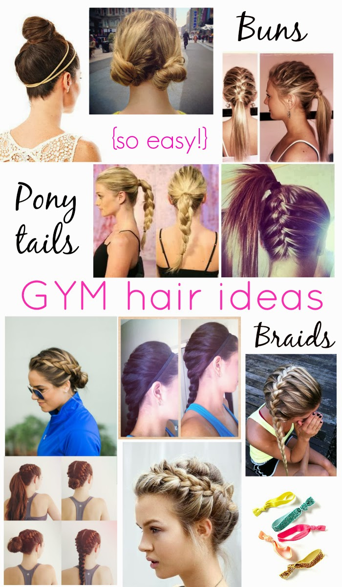 Easy Workout/Gym Hair Styles | | R.K.C Southern