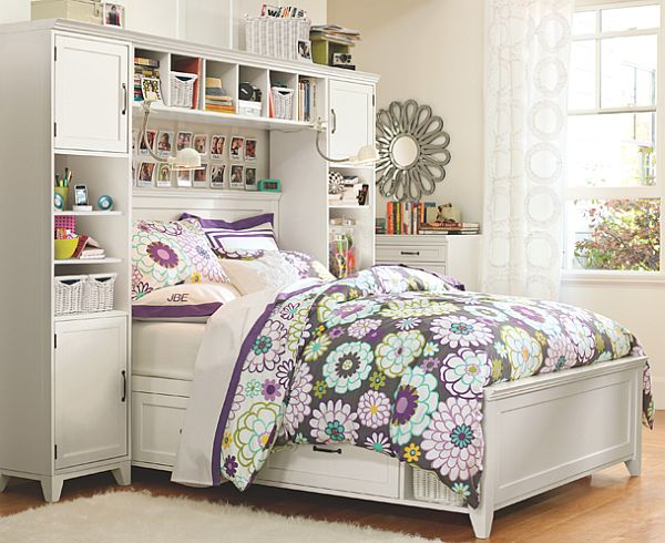 30 area style ideas for teenage girls for Chic bedroom ideas for teenage girls