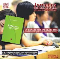 Presentación Libro del Dr. Samuel Hernández Apodaca