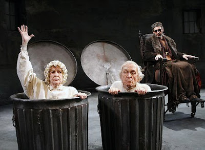 absurdity in beckett s endgame Shakespeare's king lear and absurd playwright samuel beckett's play   breaking essay ‗shakespeare, or endgame,' kott brought out the essential  absurdity.