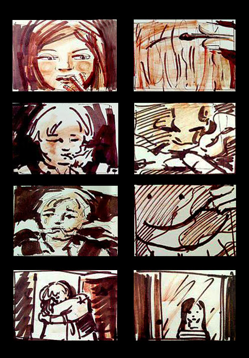 Storyboards, Key Frames and Production Design