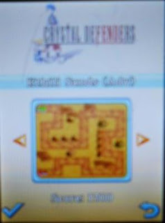 Game Crystal Defender Java 240x320