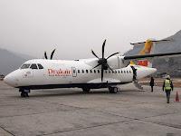 Drukair ATR-42 - Paro airport, Bhutan