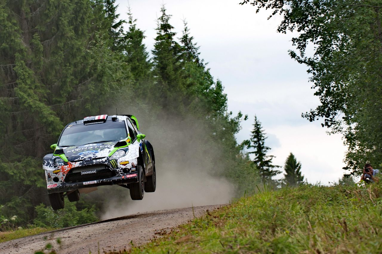 Rally World News: WRC FINLAND 2012: KEN BLOCK FORCED TO RETIRE AFTER ...