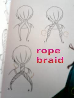 DISNEY FROZEN FEVERHAIRSTYLES braisschool sample rope braid