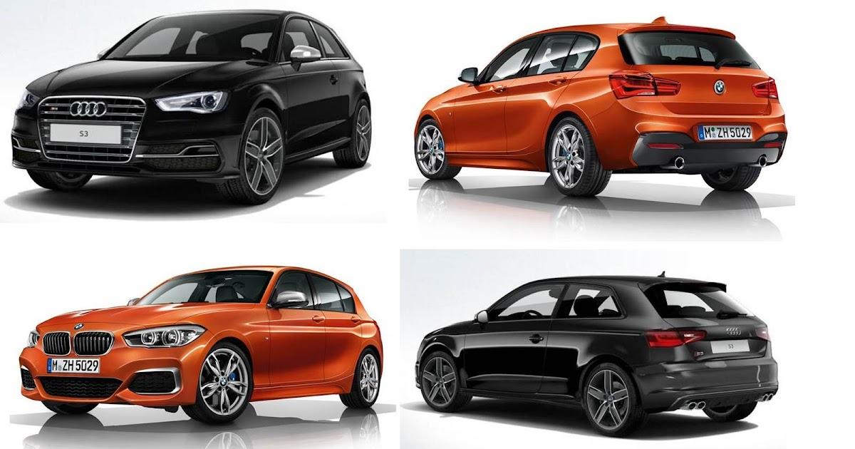 BMW 135i 3.0 de 326 cavalos x Audi S3 2.0 TFSI de 300 cv