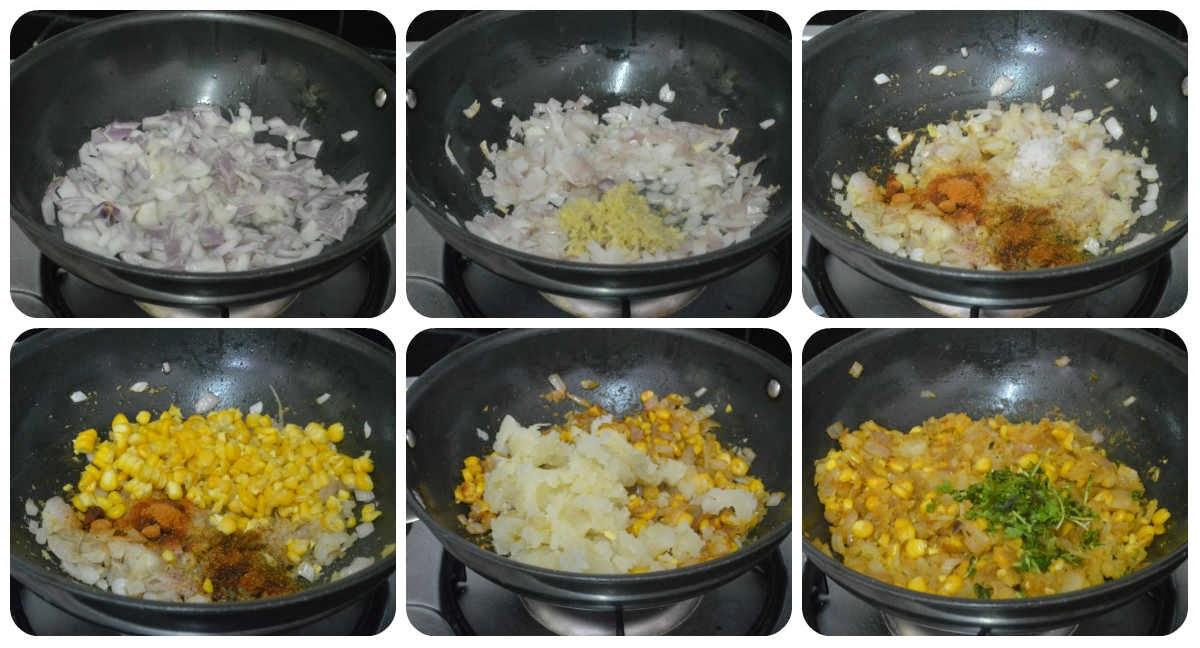 corn tikki