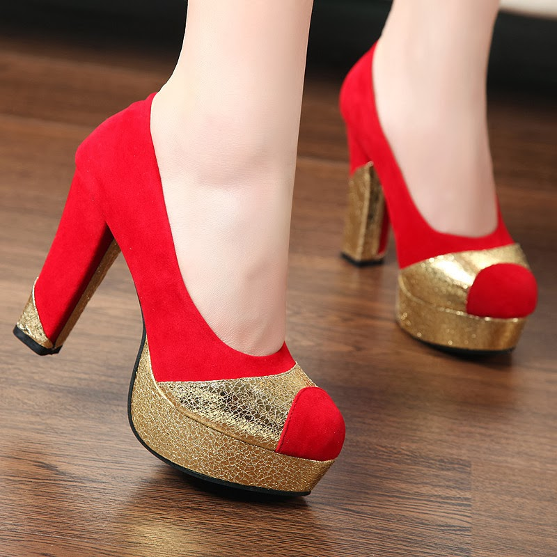 Latest High Heel Women Shoes Collection