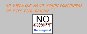 No copy, Be original!