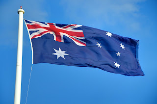 The Australian Flag, Shadwell