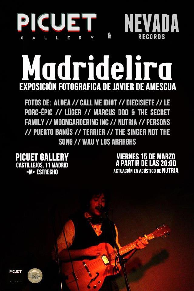 """MADRIDELIRA"" Javier Amescua"