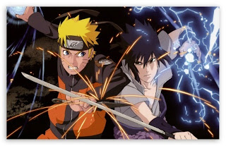 Naruto vs Sasuke wallpaper keren download