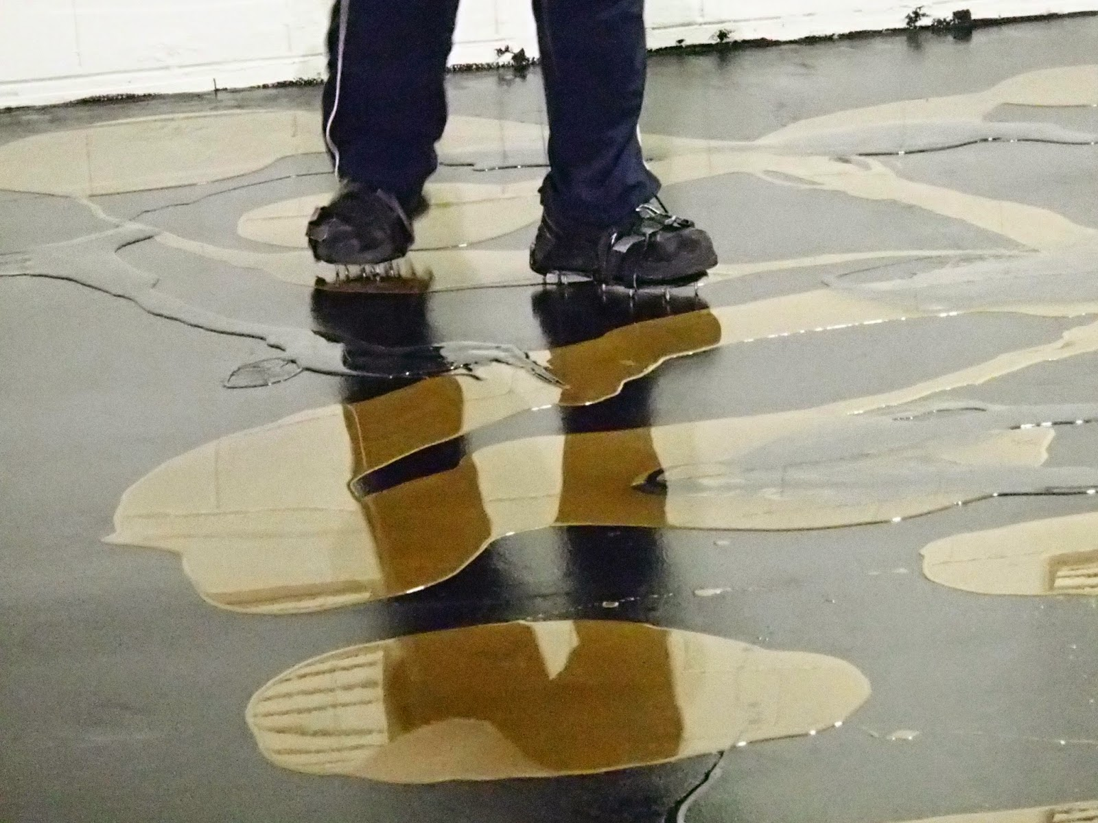 legacy industrial's blog site: metallic epoxy floor coatings diy
