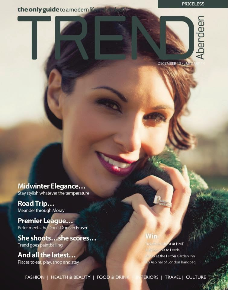 Front cover for Trend Magazine, Aberdeen