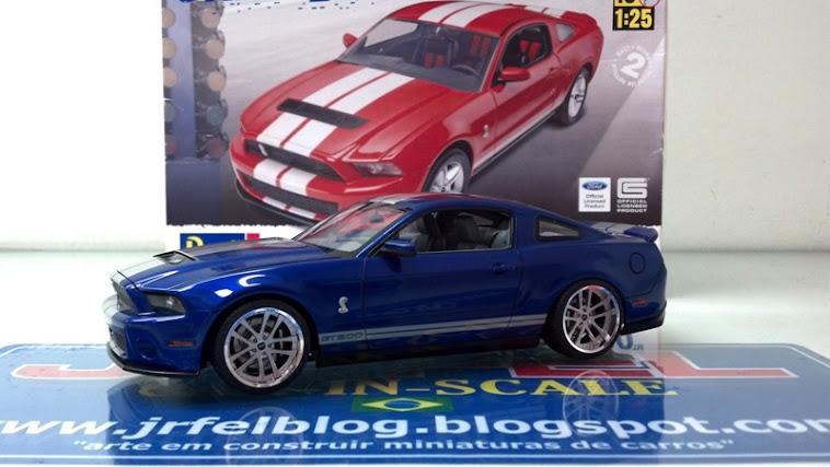Mustang GT500 - 2010 Revell - finalizado em Fevereiro 2013.