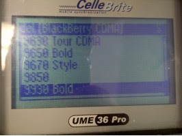 BlackBerry Bold 9930 and BlackBerry Torch 9850 Are Included in CelleBrite System