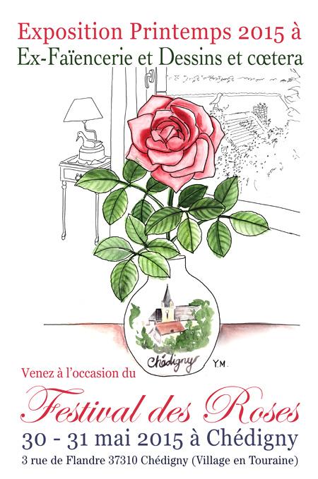 Festival des roses Chédigny 2015