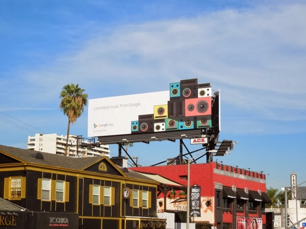 Google Play Unlimited music extension billboard