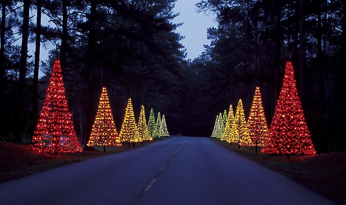Explore southern history best christmas lights of 2013 now online for Callaway gardens fantasy in lights