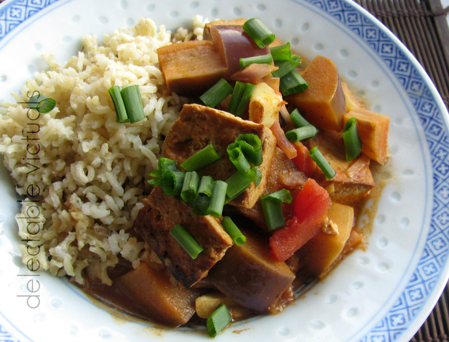 eggplant tofu curry
