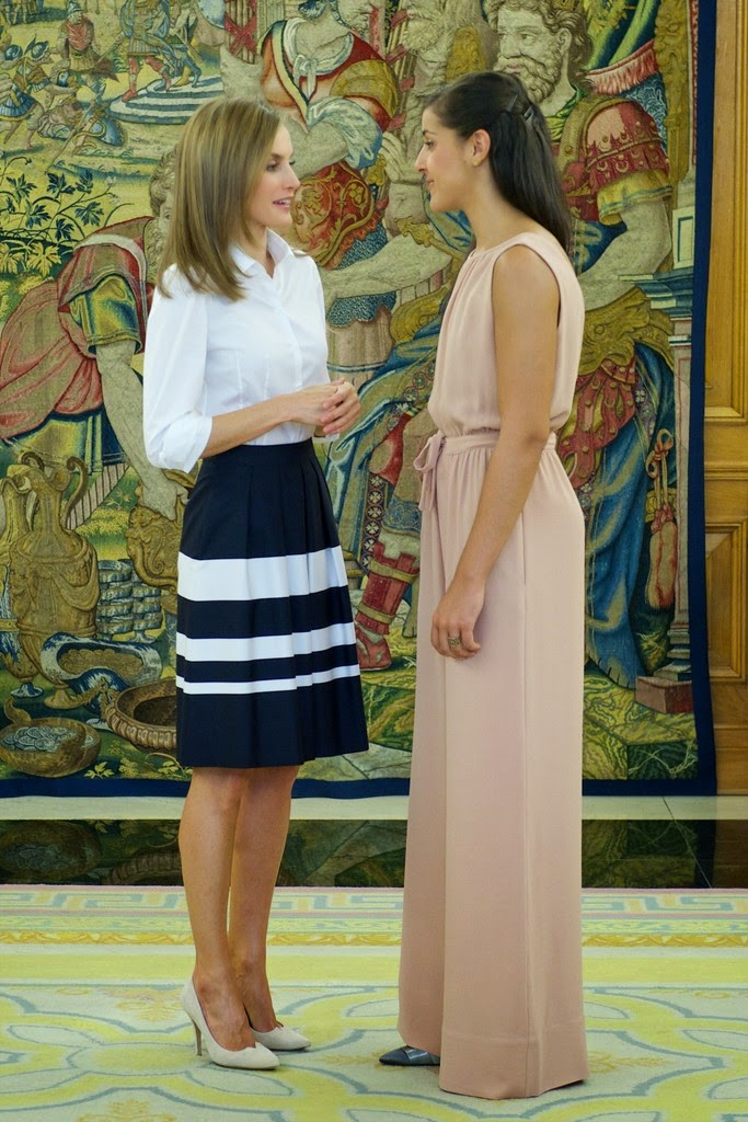 Carolina Marin Meet Spanish Queen Letizia - Badminton Zone