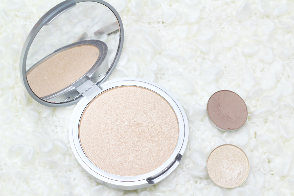 the balm mary-lou manizer mac omega nylon review highlight contour pale skin