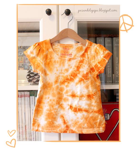 pasandolopipa : camiseta tie dye
