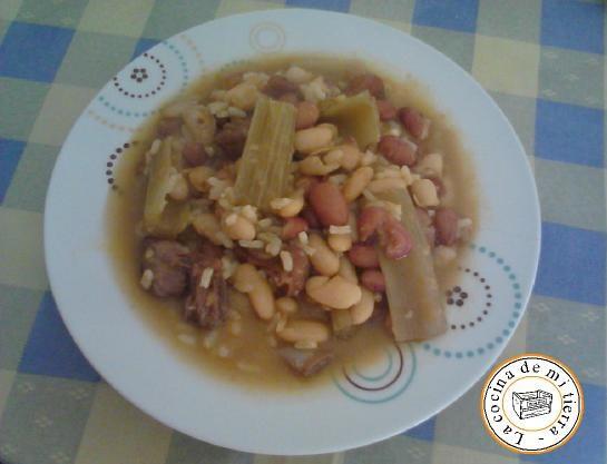 receta de arroz caldoso alicantino
