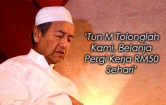 Rintihan Sayu Rakyat Marhaen Buat Tun Mahathir