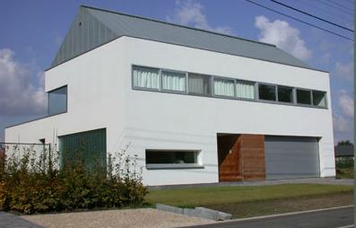 Gip architectuur bart coenen - Daken en volumes ...