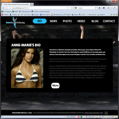 Screen shot of .http://www.iamonefitbody.com/#/bio/