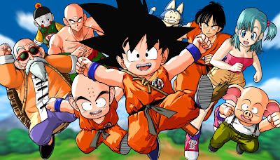"Foto promocional de ""Dragon Ball""."