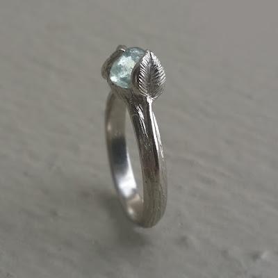 Dawn Vertrees, Raw Uncut Blue Sapphire, Twig Sapphire Engagement Ring, Raw Uncut Engagement ring, Engagement Ring, Alternative Engagement ring