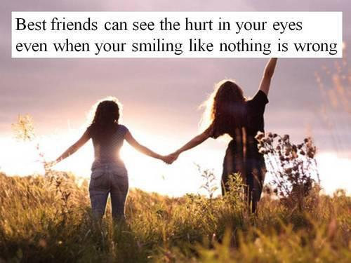 Welcome to Mian_Farhan blog: BEST FRIENDS CAN SEE THE HURT ...