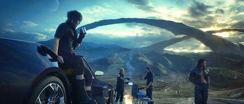 Final Fantasy XV  Campamentos