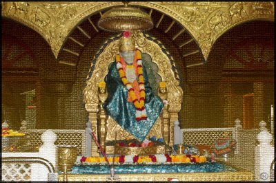 First Shower Of Blessings - Sai Devotee Neha
