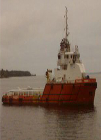 OFFSHORE SUPPLY BOAT PIC